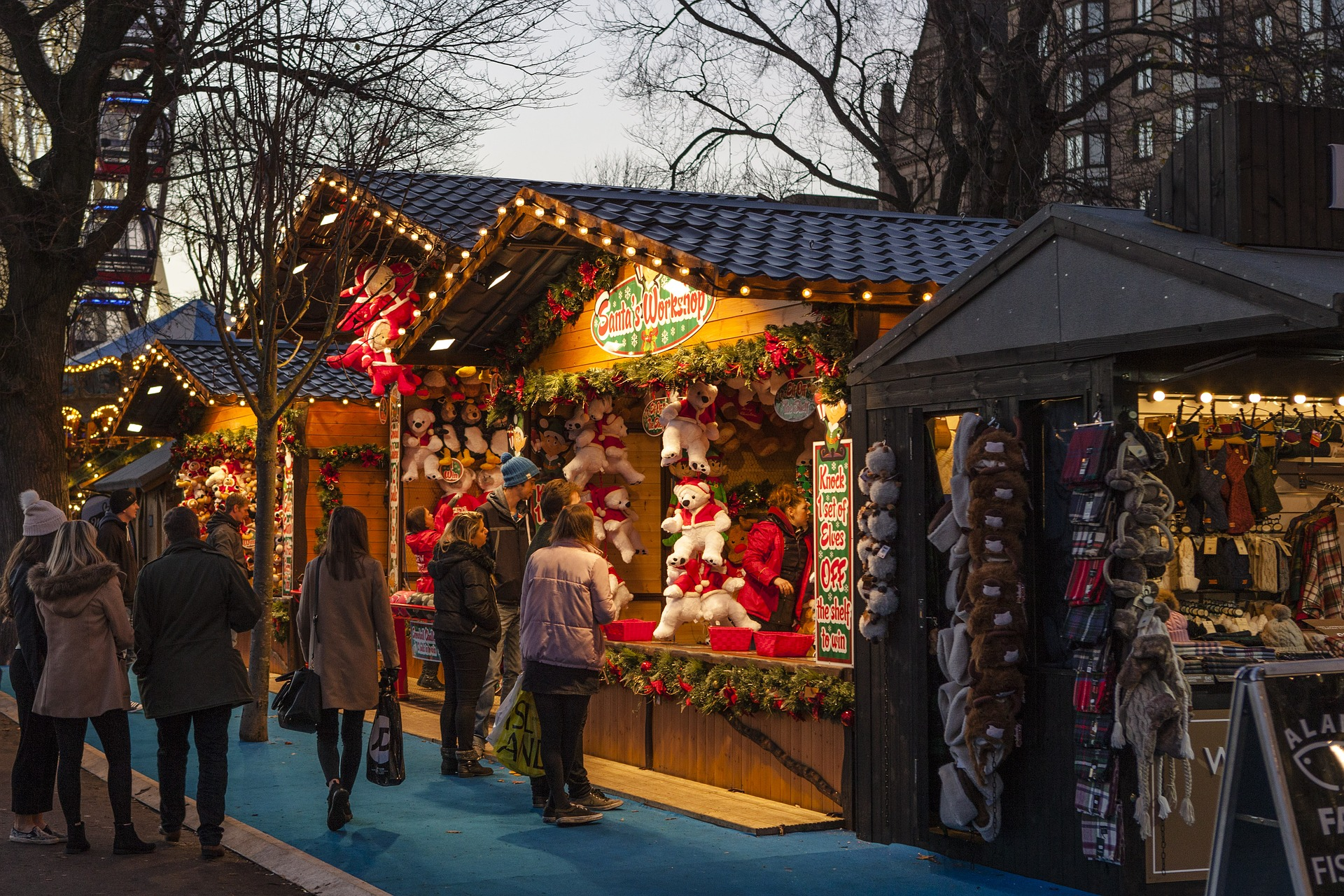 When do the Christmas Markets start in New York 2017?