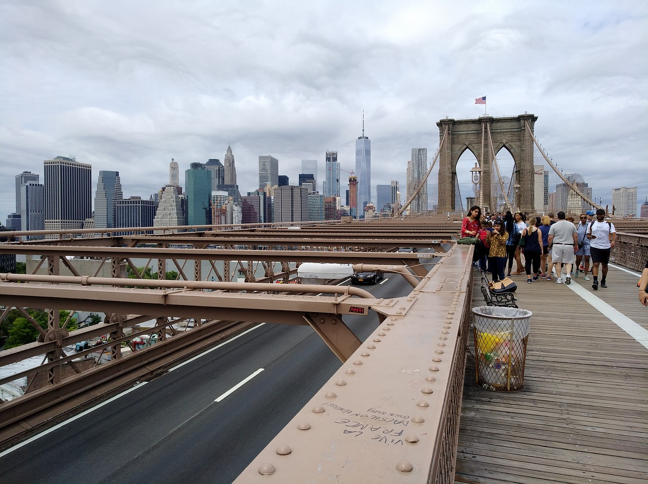 Where to Start Walking the Brooklyn Bridge from Manhattan?