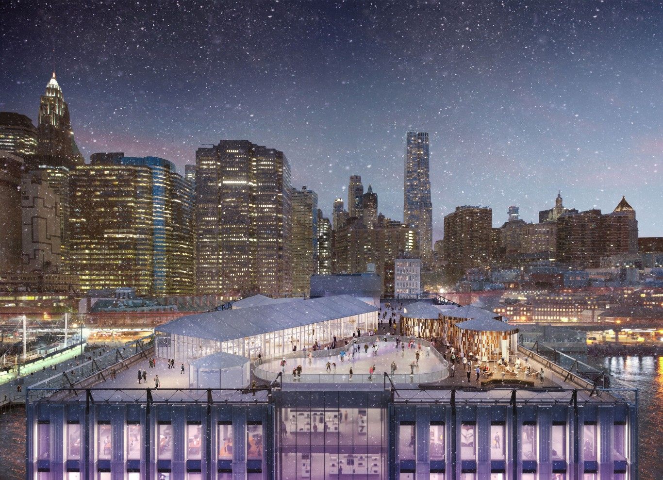 ice skating rinks in nyc
