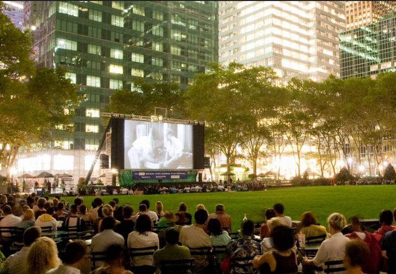Cine al Aire Libre en New York